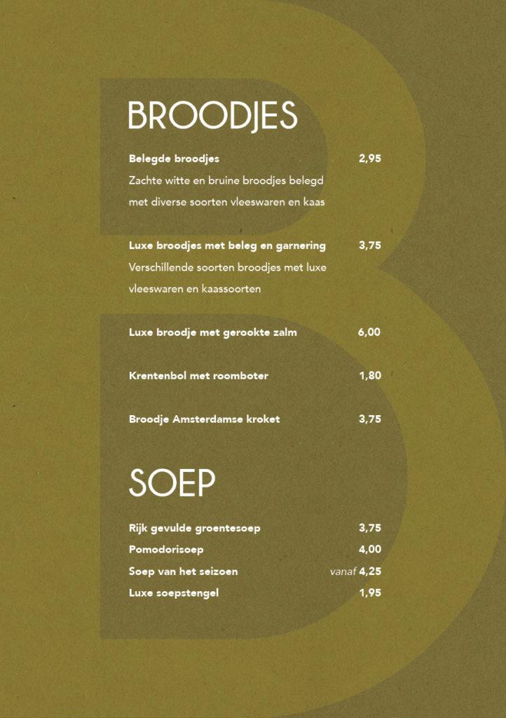 Broodjes en soep S-catering